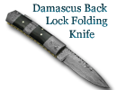 Folding Back Lock Knife